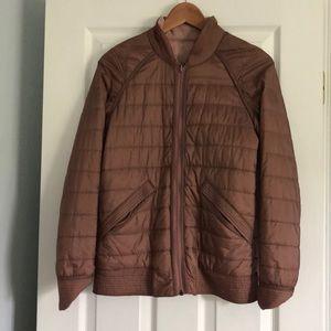 Lululemon Insulated Jacket. Size 4